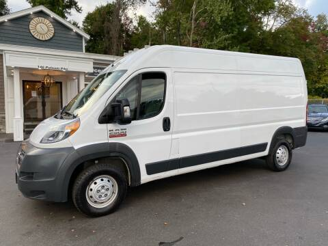 2018 RAM ProMaster Cargo for sale at Ocean State Auto Sales in Johnston RI