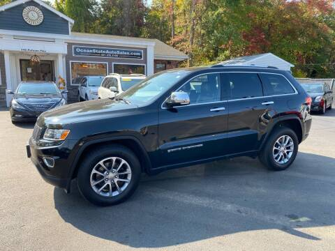 2015 Jeep Grand Cherokee for sale at Ocean State Auto Sales in Johnston RI