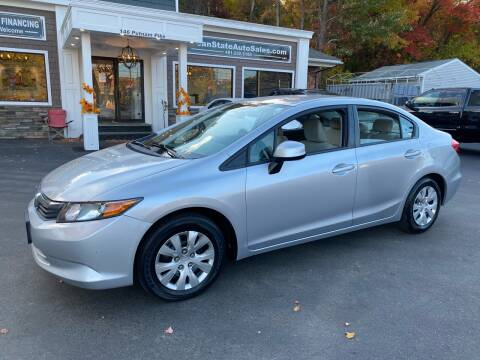 2012 Honda Civic for sale at Ocean State Auto Sales in Johnston RI
