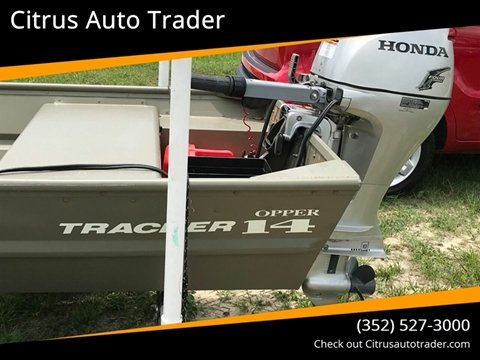 2017 Tracker Topper for sale in Lecanto, FL