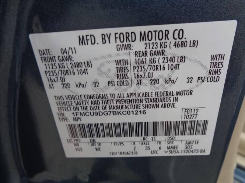 2011 Ford Escape XLT (image 30)