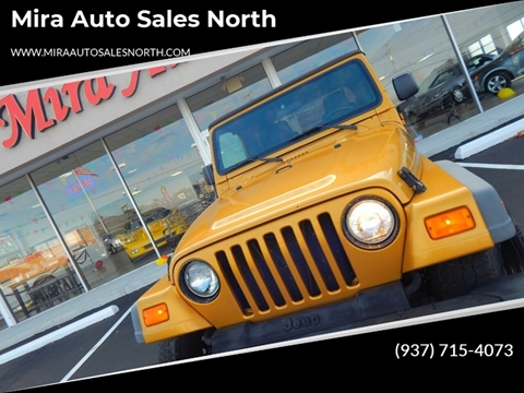 2003 Jeep Wrangler for sale in Dayton, OH