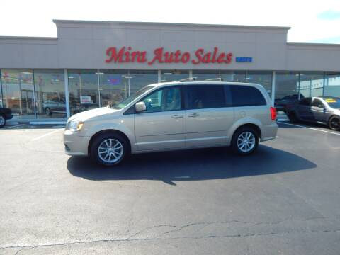 2015 Dodge Grand Caravan for sale at Mira Auto Sales in Dayton OH