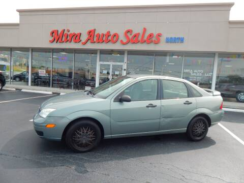 2006 Ford Focus for sale at Mira Auto Sales in Dayton OH