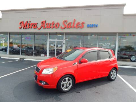 2009 Chevrolet Aveo for sale at Mira Auto Sales in Dayton OH