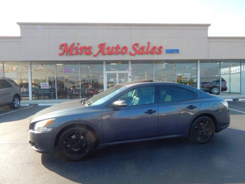 2012 Nissan Maxima for sale at Mira Auto Sales in Dayton OH