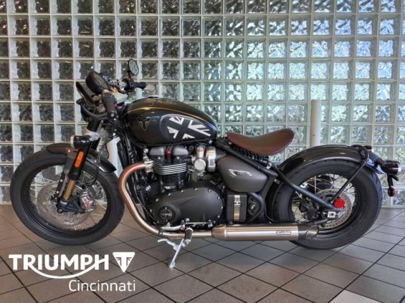 2020 Triumph Bonneville Bobber for sale at TRIUMPH CINCINNATI in Cincinnati OH