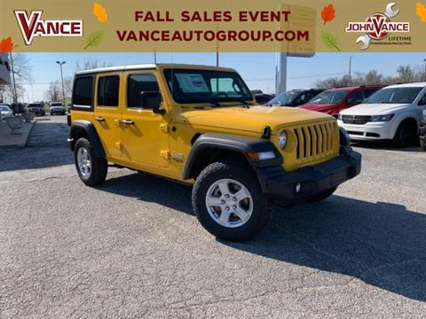 2019 Jeep Wrangler Unlimited for sale in Guthrie, OK