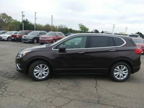 2020 Buick Envision for sale at Vance Fleet Services in Guthrie OK
