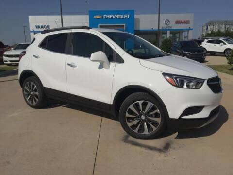 2021 Buick Encore for sale at Vance Fleet Services in Guthrie OK
