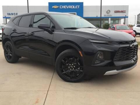 2021 Chevrolet Blazer for sale at Vance Fleet Services in Guthrie OK