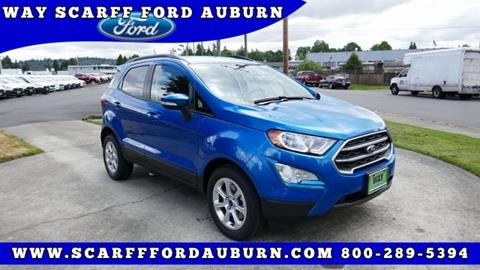 2019 Ford EcoSport for sale in Auburn, WA