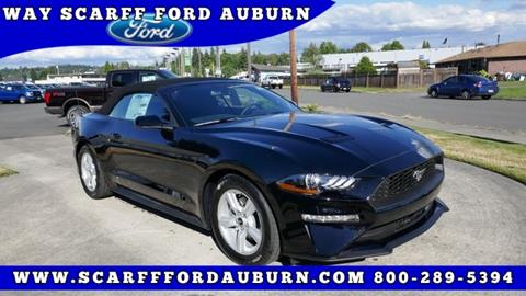 2018 Ford Mustang for sale in Auburn, WA