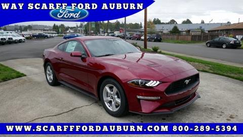 2019 Ford Mustang for sale in Auburn, WA