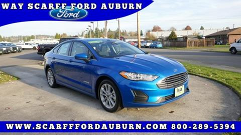 2019 Ford Fusion Hybrid for sale in Auburn, WA