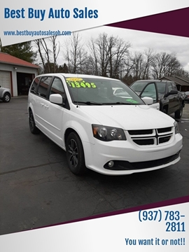 2017 Dodge Grand Caravan GT for sale at Best Buy Auto Sales in Midland OH