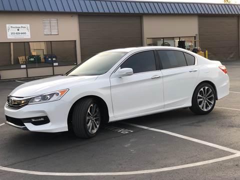 2016 Honda Accord for sale at Exelon Auto Sales in Auburn WA