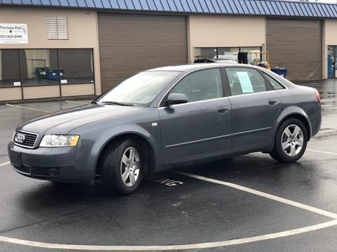 2002 Audi A4 for sale at Exelon Auto Sales in Auburn WA