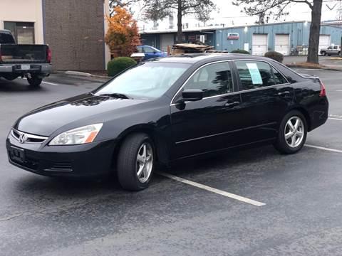 2007 Honda Accord for sale at Exelon Auto Sales in Auburn WA