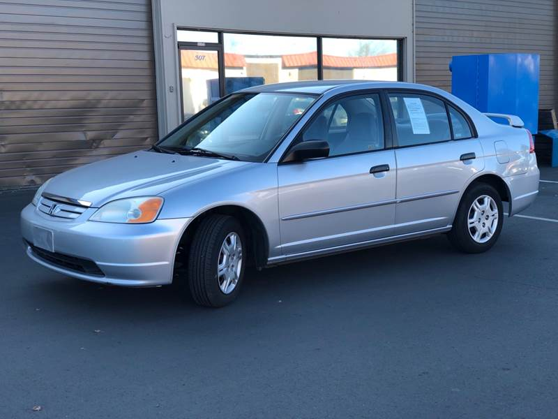 2001 Honda Civic for sale at Exelon Auto Sales in Auburn WA
