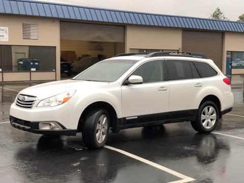 2011 Subaru Outback for sale at Exelon Auto Sales in Auburn WA