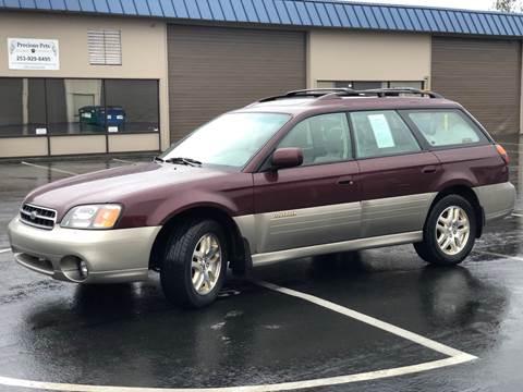 2000 Subaru Outback for sale at Exelon Auto Sales in Auburn WA