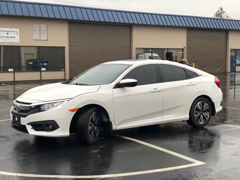 2016 Honda Civic for sale at Exelon Auto Sales in Auburn WA