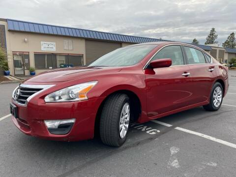 2015 Nissan Altima for sale at Exelon Auto Sales in Auburn WA