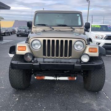 2003 Jeep Wrangler for sale in Largo, FL