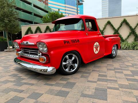 1958 Chevrolet Apache for sale in Houston, TX