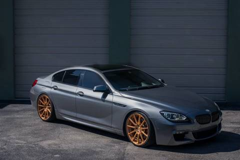 2013 BMW 6 Series for sale at EURO STABLE in Miami FL