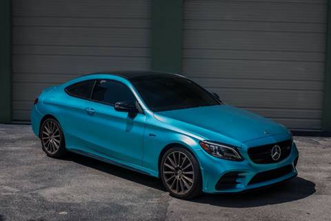 2019 Mercedes-Benz C-Class for sale at EURO STABLE in Miami FL