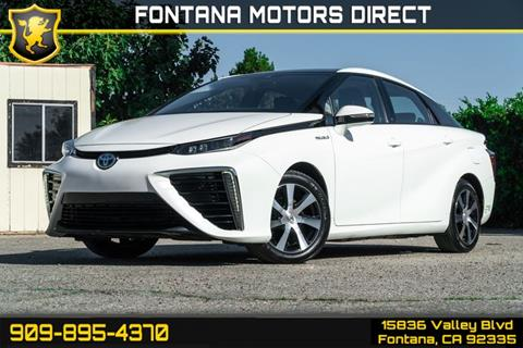 2016 Toyota Mirai for sale in Fontana, CA