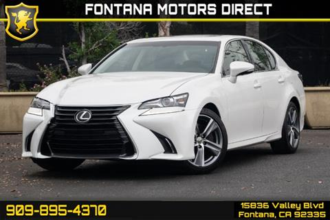 2016 Lexus GS 200t for sale in Fontana, CA
