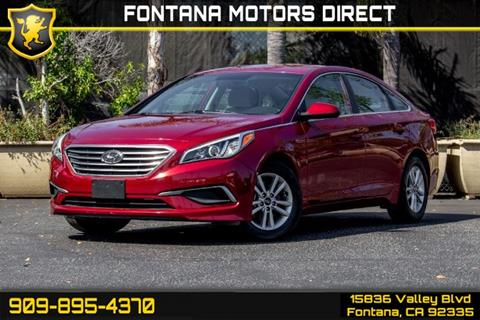 2016 Hyundai Sonata for sale in Fontana, CA