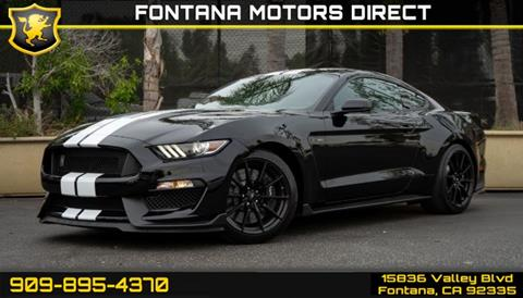 2016 Ford Mustang for sale in Fontana, CA