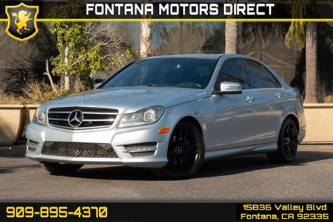 2014 Mercedes-Benz C-Class for sale in Fontana, CA