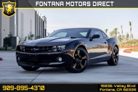 2013 Chevrolet Camaro LT for sale at FONTANA MOTORS DIRECT in Fontana CA