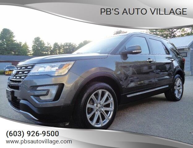 2017 Ford Explorer for sale at PB'S Auto Village in Hampton Falls NH