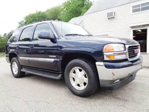 2005 GMC Yukon for sale in Hampton Falls, NH