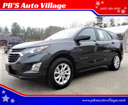 2018 Chevrolet Equinox for sale at PB'S Auto Village in Hampton Falls NH