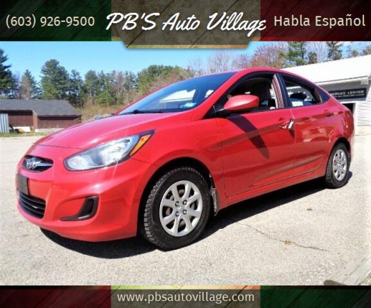 2013 Hyundai Accent for sale at PB'S Auto Village in Hampton Falls NH