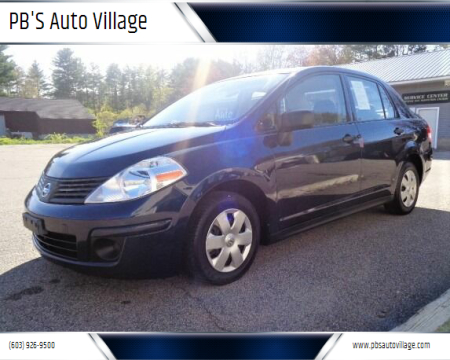 2010 Nissan Versa for sale at PB'S Auto Village in Hampton Falls NH