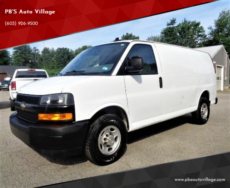 2018 Chevrolet Express Cargo for sale at PB'S Auto Village in Hampton Falls NH