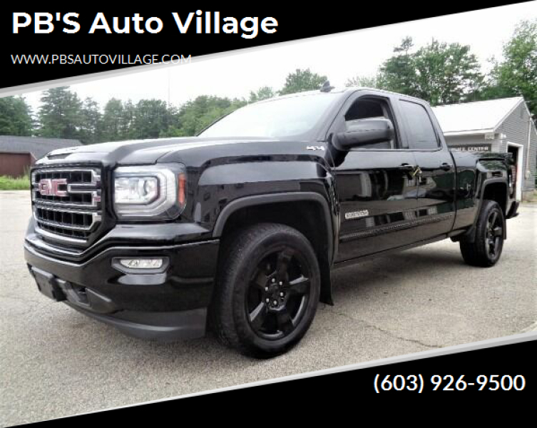 2016 GMC Sierra 1500 for sale at PB'S Auto Village in Hampton Falls NH