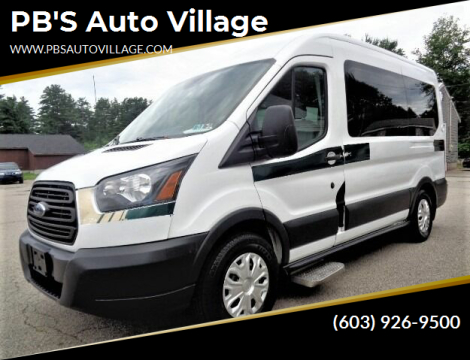 2015 Ford Transit Passenger for sale at PB'S Auto Village in Hampton Falls NH