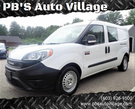 2019 RAM ProMaster City Cargo for sale at PB'S Auto Village in Hampton Falls NH