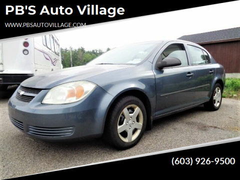 2005 Chevrolet Cobalt for sale at PB'S Auto Village in Hampton Falls NH