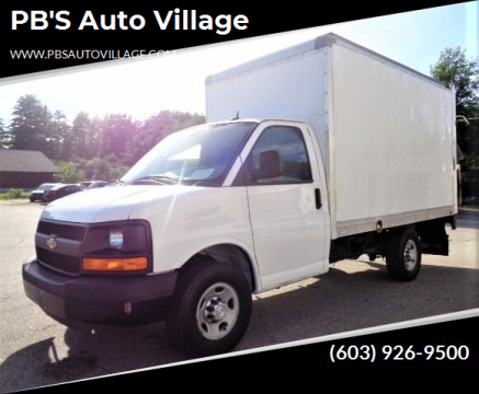2015 Chevrolet Express Cutaway for sale at PB'S Auto Village in Hampton Falls NH