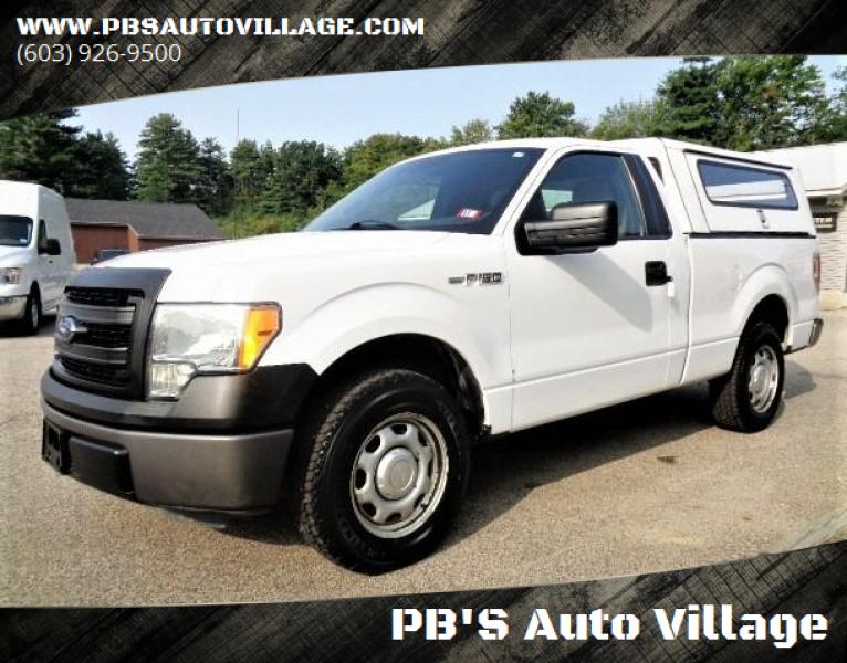 2014 Ford F-150 for sale at PB'S Auto Village in Hampton Falls NH